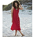 Plain Crinkle Dress Length 48in