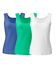 Pack of 3 Vests