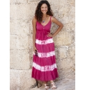 Crinkle Maxi Dress Length 50in