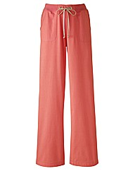 Alice Collins Linen Mix Trouser 29in