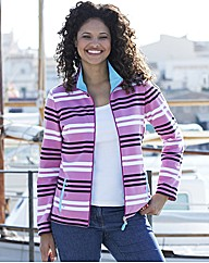 Alice Collins Stripe Sweatshirt