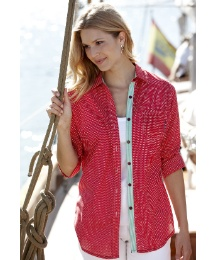 Alice Collins Polka Dot Shirt