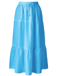 Linen Skirt Length 27in