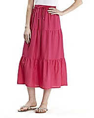 Linen Skirt Length 30in