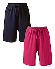 Pack of Two Cotton Shorts