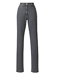 Elle Straight Leg Jeans Length 27in