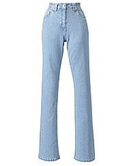 Basic Bootcut Jeans Long Length 34in