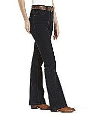 Petite Basic Bootcut Jeans Length 26in