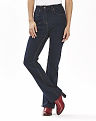 Christie Petite Basic Bootcut Jeans 26in