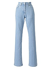 Basic Bootcut Jeans Length 32in