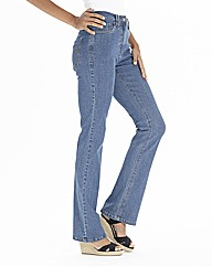 Lower Rise Basic Bootcut Jeans 28in