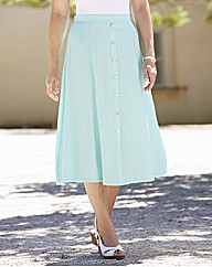 Plain Crinkle Skirt Length 29in