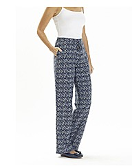 Linen Trousers Length 29in