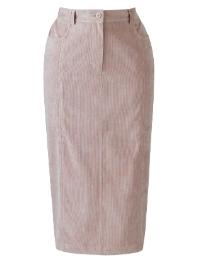Cord Skirt Length 25in