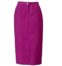 Twill Magi Fit Skirt Length 27in