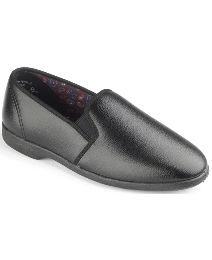 Free-Step Mens Twin Gusset Slippers
