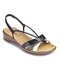 The Shoe Tailor Strappy Sandals EEE Fit