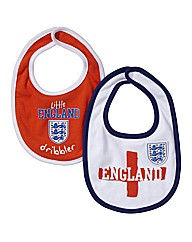 England Kit Pack of 2 Bibs