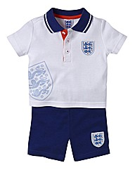 England Kit Shirt & Shorts