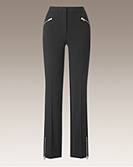 Joanna Hope Zip Detail Trousers 29in