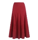 Joanna Hope Mock Suede Skirt 32in