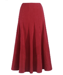 Joanna Hope Mock Suede Skirt 29in