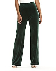 Joanna Hope Velour Palazzo Trousers 33in