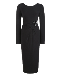 Joanna Hope Sequin Trim Jersey Dress