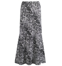 Joanna Hope Lace Print Jersey Skirt