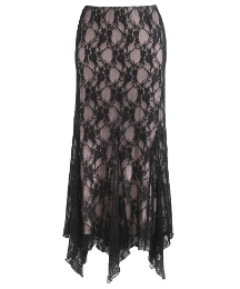 Joanna Hope Godet Lace Skirt Length 36in