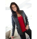 Joanna Hope Quilted PU Jacket