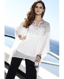 Joanna Hope Sequin Kaftan