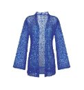 Fusions By East Sequin Jacket
