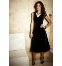Fusions By East Velvet Dress
