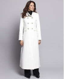 Joanna Hope Braid Trim Longline Coat