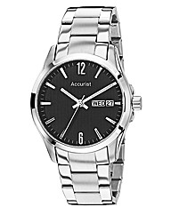 Accurist Gents Steel Bracelet Watch