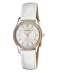 Accurist Ladies Leather Strap Watch
