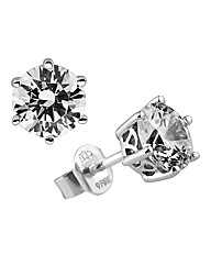 Diamonfire Sterling Silver Earrings