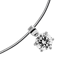Diamonfire Sterling Silver Pendant