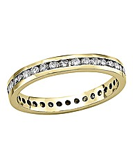 18 Carat Gold 1/2 Carat Diamond Ring
