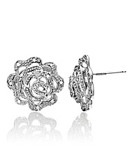9 Carat White Gold Earrings