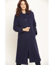 Grazia Cashmere Blend Coat Length 44in