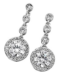 Diamonfire Drop Earrings