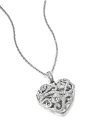Diamonfire Heart Locket
