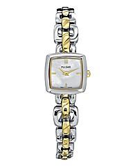 Pulsar Ladies Two-Tone Bracelet Watch