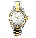 Seksy Two-Tone Glitzy Bracelet Watch