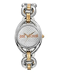 Just Cavalli Two-Tone Bracelet Watch