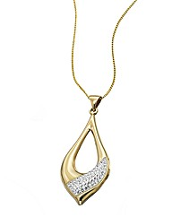 9 Carat Gold Sterling Silver Pendant