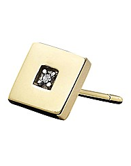 9 Carat Yellow Gold Gents Stud Earring
