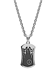 Police Gents Dog tag Pendant
